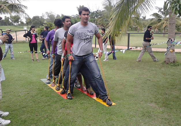 Accenture Team outing, Eagleton Bangalore
